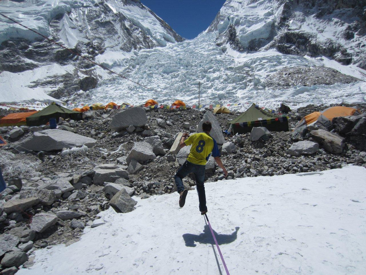 Alpine Ascents Everest 2012 Khumbu Icefall