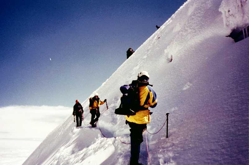 Ecuador Climbing Trip December 2003